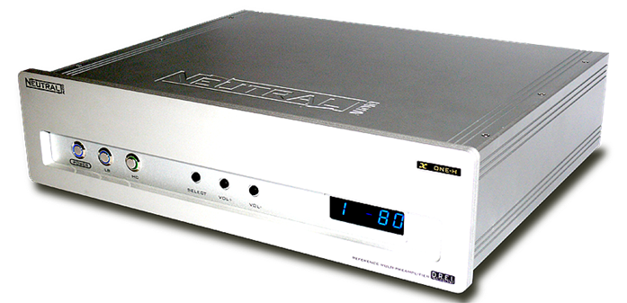 X-ONE Multipreamplifier with DREi by Neutral Audio