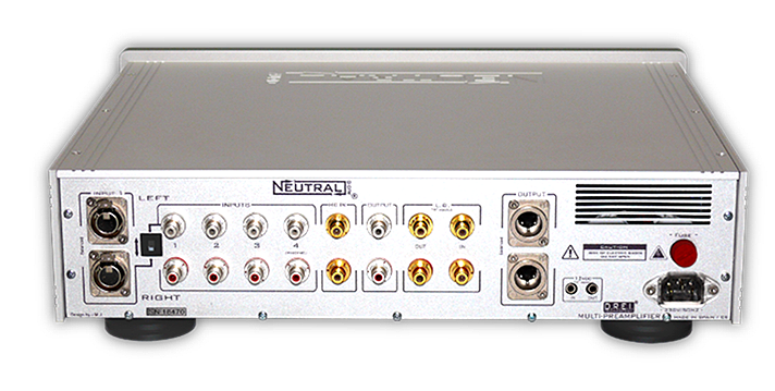 X-ONE Multipreamp rear with DREi by Neutral Audio